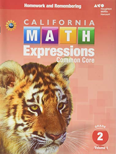 9780544211339: Houghton Mifflin Harcourt Math Expressions California ...