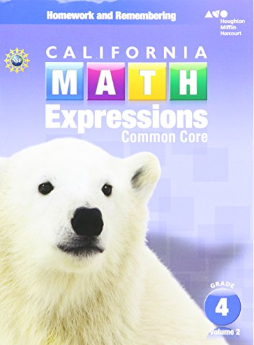 9780544211384 Houghton Mifflin Harcourt Math Expressions