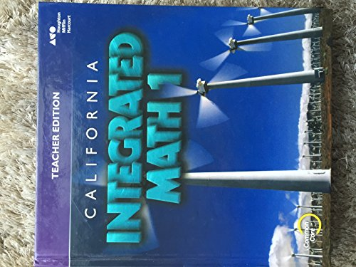 9780544217652: Integrated Mathematics 1 - Teacher Edition