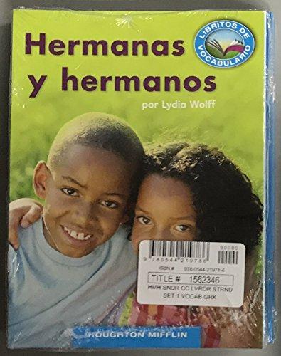 9780544219786: Senderos Estándares Comunes: Vocabulary Readers Strand Single Copy Set Grade K (Spanish Edition)