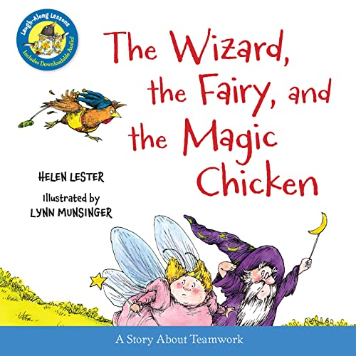 9780544220645: The Wizard, the Fairy, and the Magic Chicken (Laugh-Along Lessons)