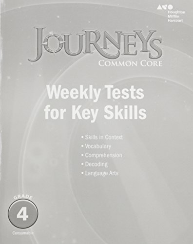 9780544226173: Journeys: Common Core Weekly Assessments Grade 4