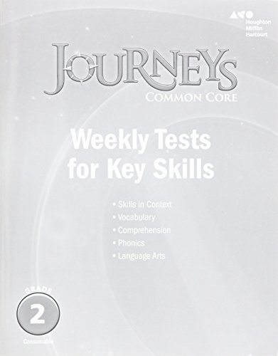 9780544227361: Journeys: Common Core Weekly Assessments Grade 2