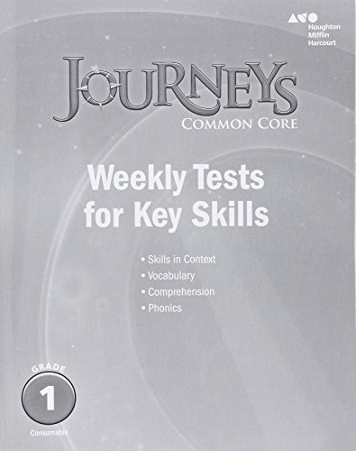 9780544227460: Journeys: Common Core Weekly Assessments Grade 1
