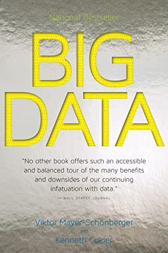 9780544227750: Big Data: A Revolution That Will Transform How We Live, Work, and Think