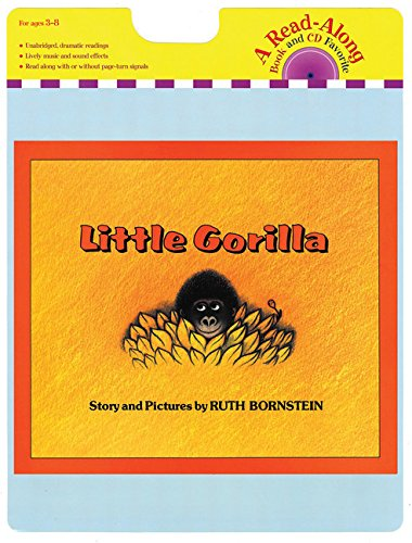 9780544227941: Little Gorilla Book & CD (Read-Along Book and CD Favorite)