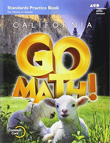 9780544230880: Go Math! California Practice Workbook, Grade K
