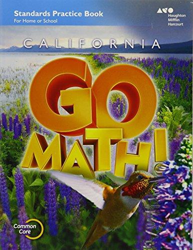 9780544230927: Houghton Mifflin Harcourt Go Math! California: Practice Workbook Grade 4