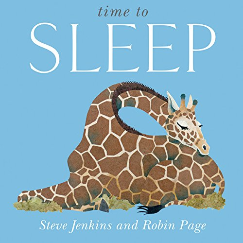 Time to Sleep Big Book: Jenkins, Steve; Page, Robin