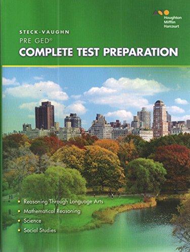 9780544253469: Steck-Vaughn Pre-GED: 2014 Complete Preparation