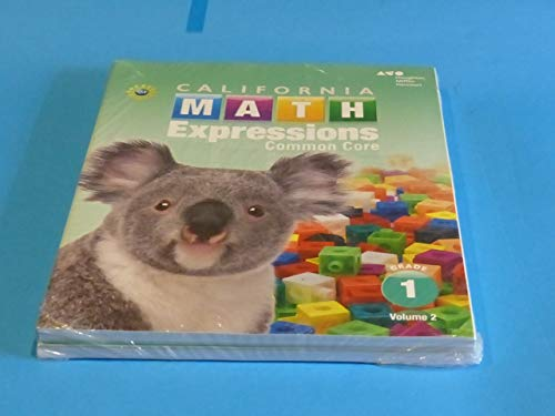 Houghton Mifflin Harcourt Math Expressions California: Student Activity Book Collection softcover ...