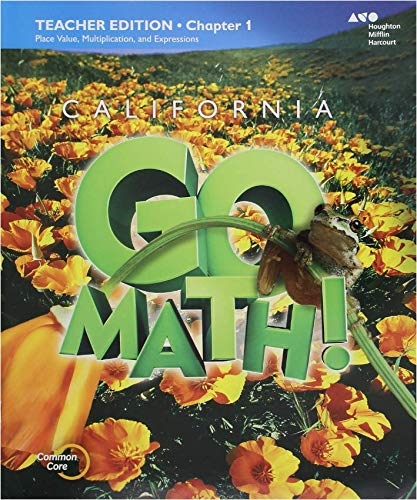 9780544264502: HMH Go Math! California: Teacher Edition Collection Grade 4 2015