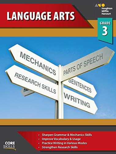 9780544267862: Steck-Vaughn Core Skills Language Arts: Workbook Grade 3