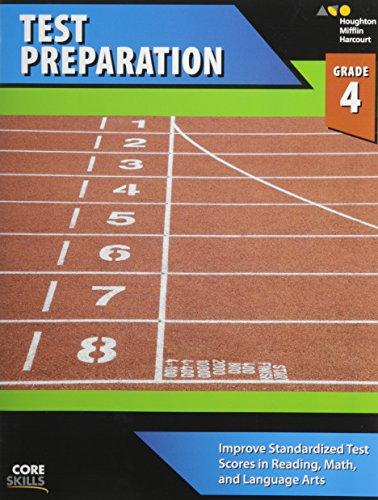 9780544268562: Steck-Vaughn Core Skills Test Preparation: Workbook Grade 4