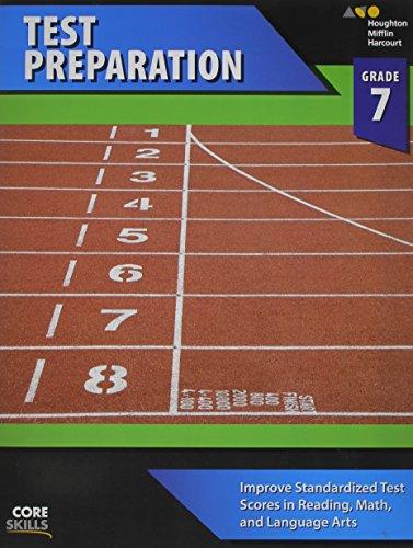 Core Skills Test Preparation Workbook Grade 7: Steck-Vaughn Company