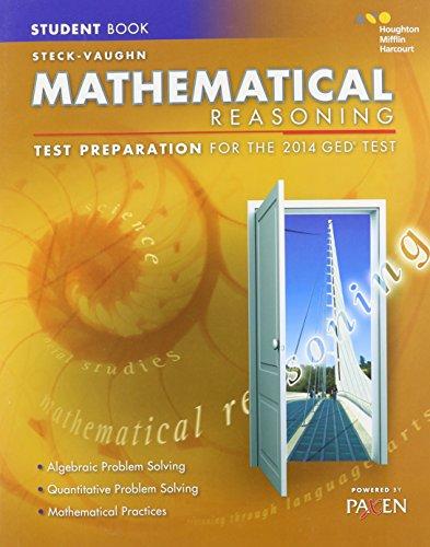 9780544274242: Steck-Vaughn GED: Test Preparation Student Edition Mathematical Reasoning 2014