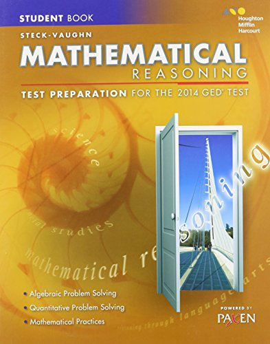9780544274242: Steck-Vaughn GED: Test Preparation Student Edition Mathematical Reasoning 2014