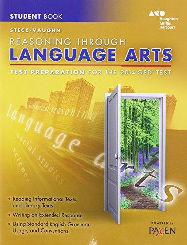9780544274266: Test Prep Reasoning Through Language Arts: Test Preparation Student Edition Reasoning Through Language Arts 2014 (Steck-Vaughn GED)