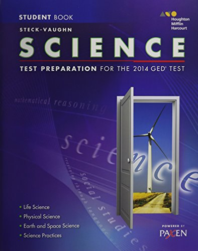 9780544274273: Steck-Vaughn GED: Test Preparation Student Edition Science 2014