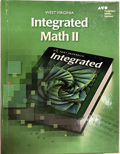 9780544281875: Holt McDougal Custom Solutions Integrated Math II West Virginia: Student Edition Grade 10 2014