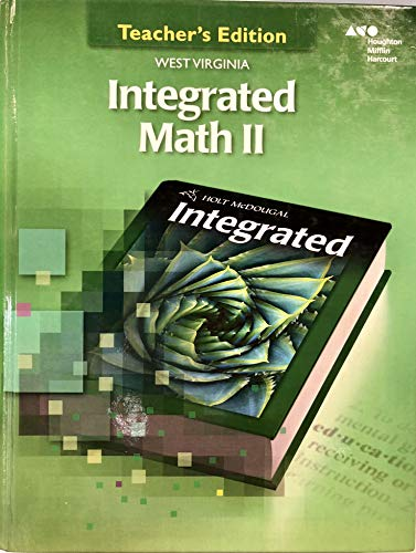 9780544282322: Holt McDougal Custom Solutions Integrated Math II West Virginia: Teacher Edition Grade 10 2014