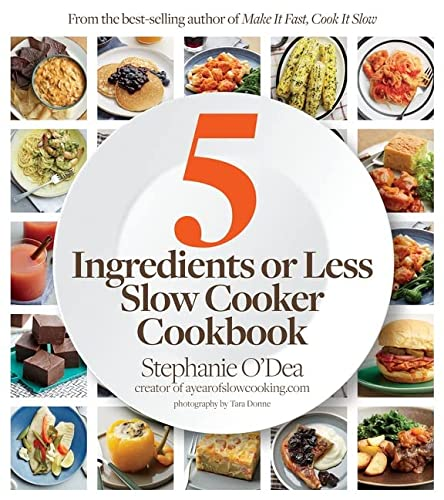 9780544284227: Five Ingredients or Less Slow Cooker Cookbook