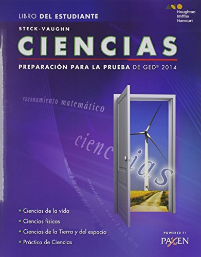 9780544301290: Steck-Vaughn GED: Test Prep 2014 GED Science Spanish Student Edition 2014 (Spanish Edition)