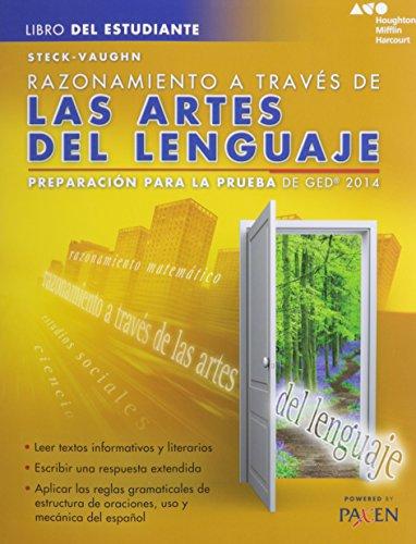 9780544301313: Razonamiento a traves de las artes del lenguaje: Preparacion para la prueba de GED 2014 (Steck-Vaughn GED)