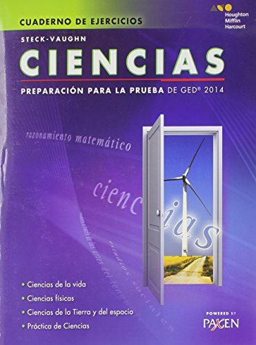 9780544301344: Ciencias (Cuaderno de Ejercicios): Test Prep 2014 (Steck-Vaughn GED)