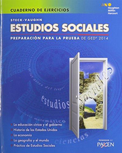 9780544301351: Steck-Vaughn Estudios sociales: Preparacion para la prueba de GED 2014 (Cuaderno De Ejecicios)