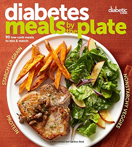Diabetic Living Diabetes Meals By the Plate: 90 Low-carb Meals to Mix & Mat