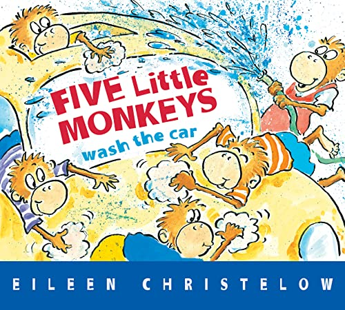 9780544302365: Five Little Monkeys Wash the Car (A Five Little Monkeys Story)