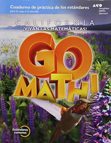 9780544315198: Go Math! Spanish California: Standards Practice Book Grade 4 (Spanish Edition)