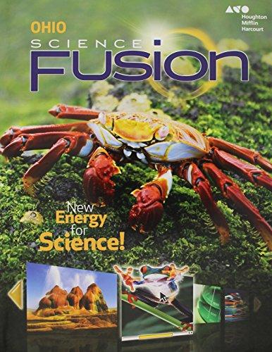 9780544317840: Houghton Mifflin Harcourt Science Fusion Ohio: Student Edition Worktext Grade 5 2015