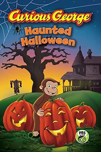 9780544320796: Curious George Haunted Halloween (CGTV Reader)