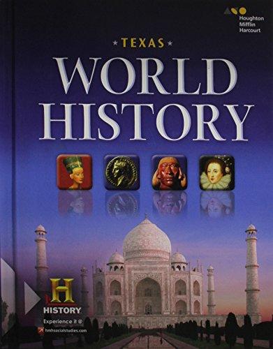 9780544321908: World History Texas: Student Edition 2016