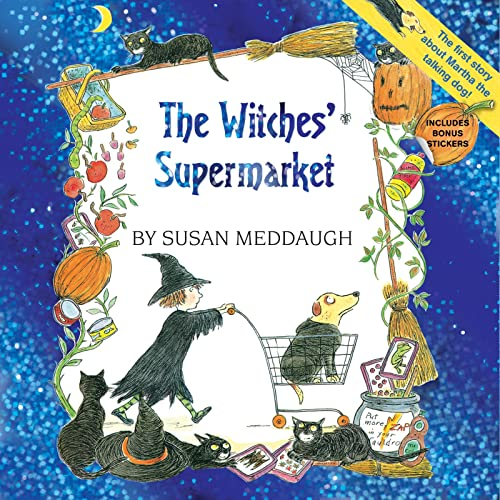 9780544323582: The Witches' Supermarket (8x8 with stickers) (Martha Speaks)