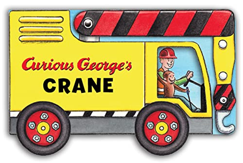 Curious George's Crane (mini movers shaped board books) 9780544323599 Come along for a ride in Curious George's Crane—an innovative novelty book that's shaped like a crane! When George sees a shiny yellow c