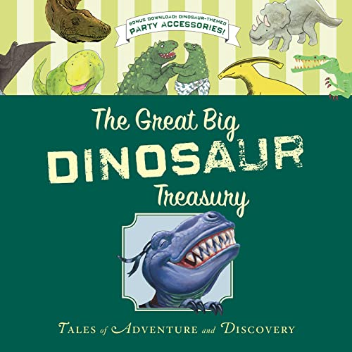 The Great Big Dinosaur Treasury Format: Trade Cloth