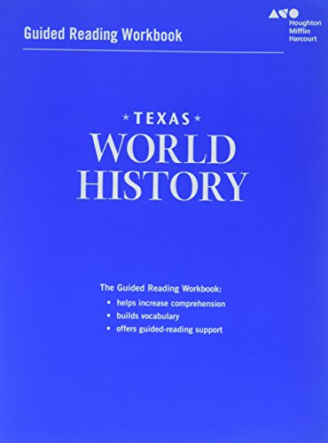9780544326712: World History Texas: Guided Reading Workbook