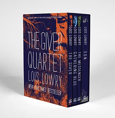 The Giver Quartet boxed set: Lowry, Lois