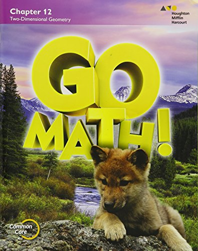 Go Math!: Student Edition Chapter 12 Grade 1 2015: HOUGHTON MIFFLIN HARCOURT