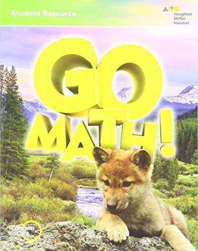 9780544342668: Go Math!: Chapter 1 Resource Book Grade 1