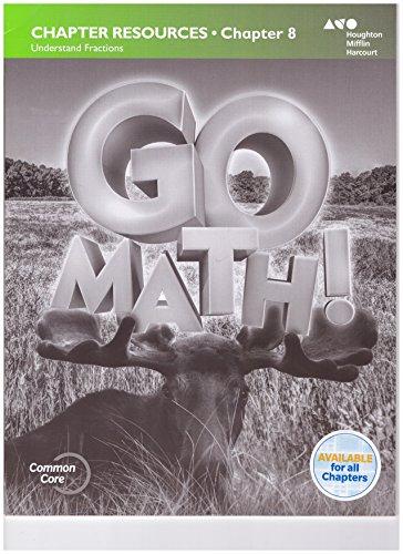 9780544343016: Go Math!: Chapter 8 Resource Book Grade 3