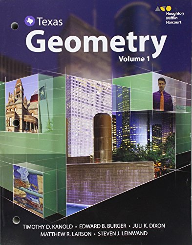 9780544365018: Hmh Geometry: Interactive Edition Bundle 2016, Texas Edition: 1-2