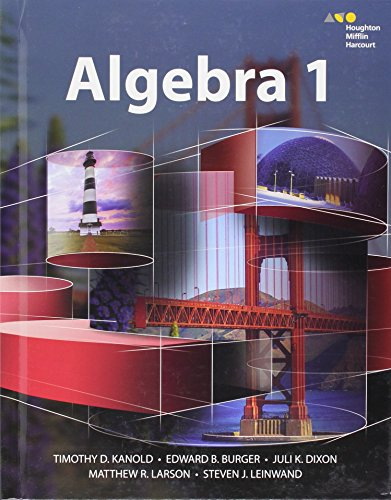 9780544381896: HMH Algebra 1: Student Edition 2015