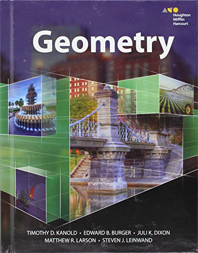 Hmh Geometry: Student Edition 2015: HARCOURT, HOUGHTON MIFFLIN