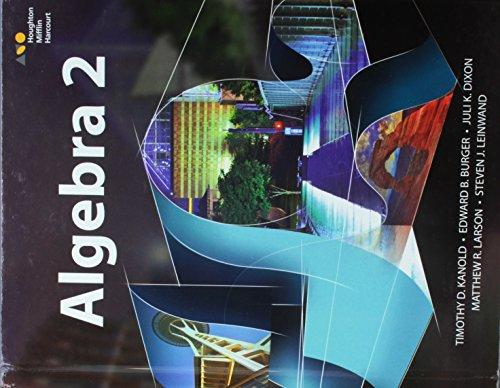9780544385917: HMH Algebra 2: Student Edition 2015