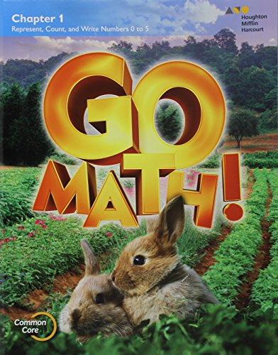 9780544390119: GO Math!: Multi-Volume Student Edition Bundle Grade K 2015