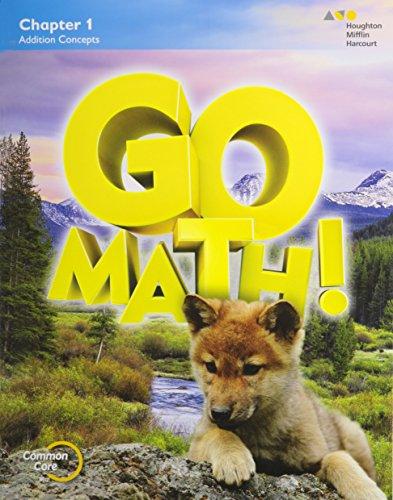 9780544390126: GO Math!: Multi-Volume Student Edition Bundle Grade 1 2015